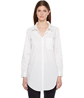 Ivanka Trump - Long Sleeve Stretch Poplin Top