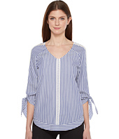 Ivanka Trump - Stripped Cotton Top