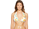 Kate Spade New York - Capistrano Beach #57 Halter String Bikini Top w/ Removable Soft Cups