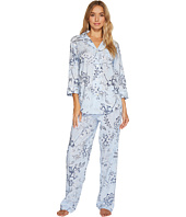 LAUREN Ralph Lauren - 3/4 Sleeve Classic Notch Collar Pajama