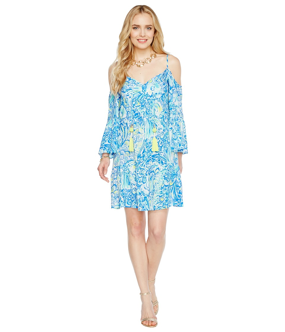 Lilly Pulitzer Alanna Dress (Blue Crush After Party) Women