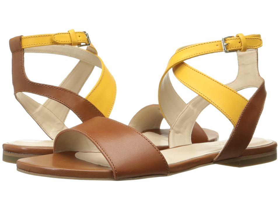 Cole Haan Fenley Sandal (Sunglow Leather/British Tan Leather) Women
