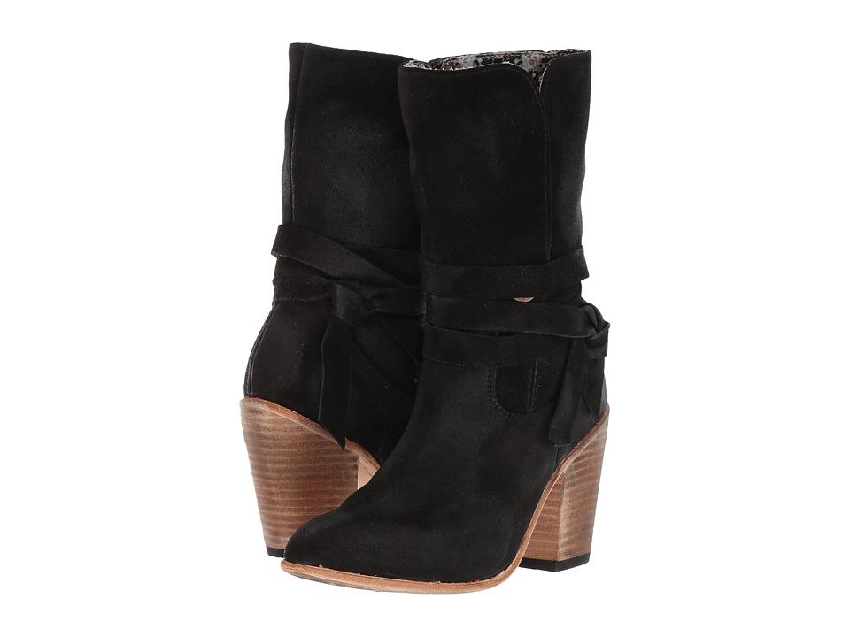 Freebird - Riot (Black Suede) Women's Shoes