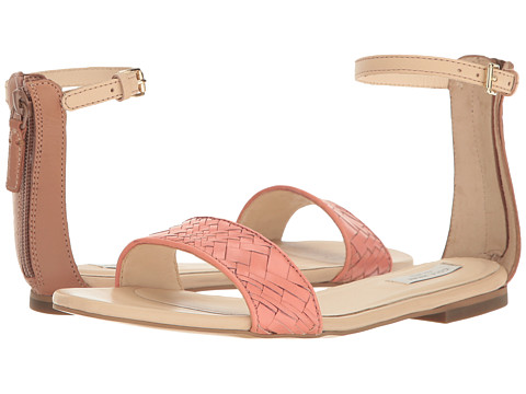 Cole Haan Genevieve Weave Sandal - Nectar Genevieve Weave/Mocha Mousse Leather/Nude Leather