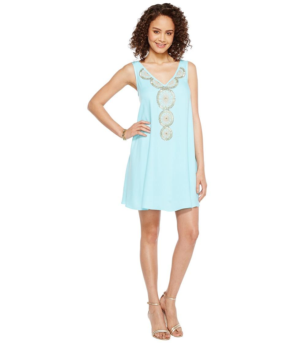 Lilly Pulitzer Fia Dress (Serene Blue) Women
