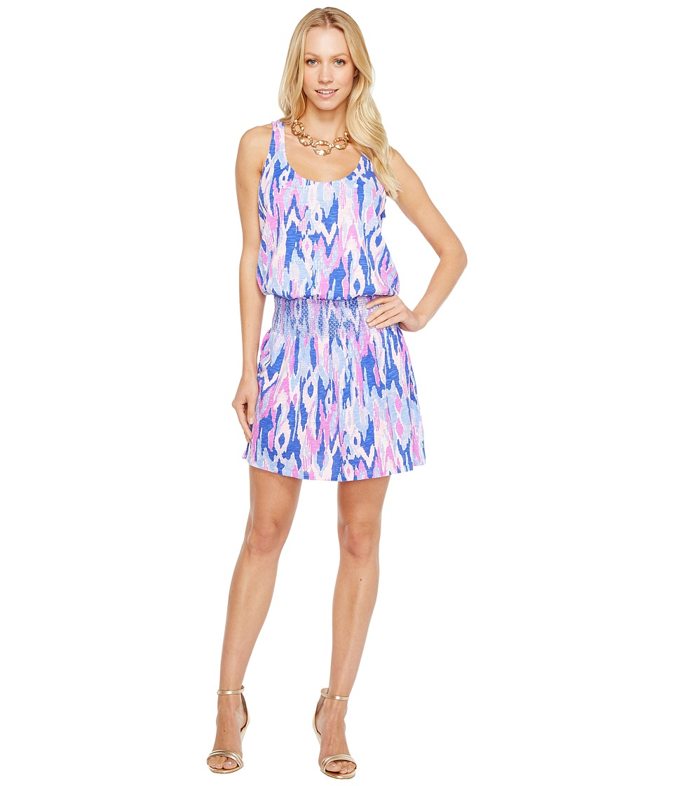 Lilly Pulitzer Tideline Dress (Amethyst One Too Many) Wom...