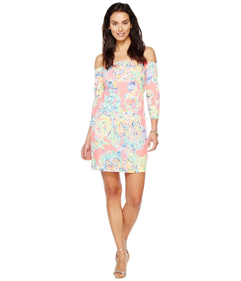 Lilly Pulitzer Laurana Dress (Coral Reef Island Seacret) Women