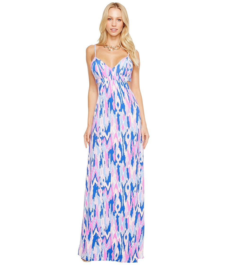 Lilly Pulitzer Linley Maxi Dress (Amethyst One Too Many) Women
