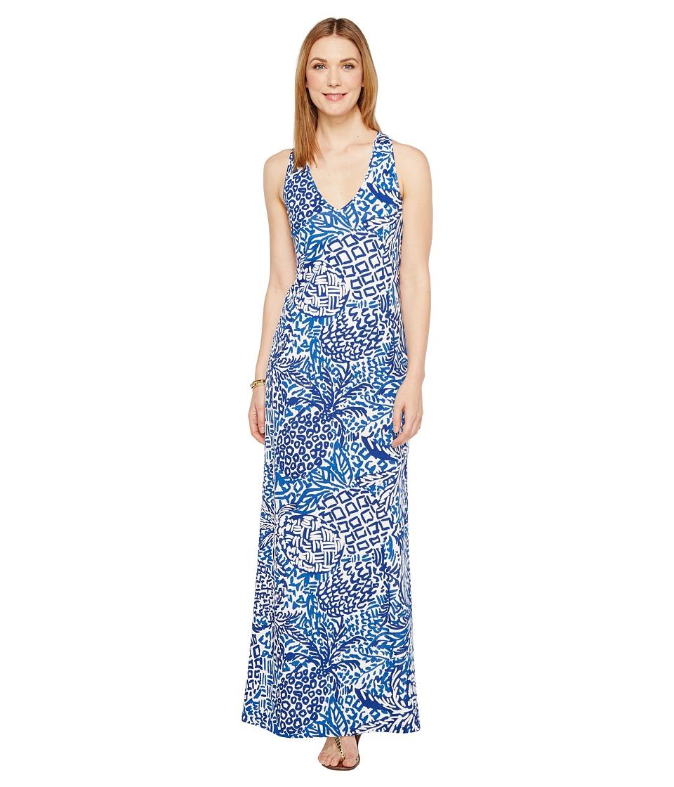 Lilly Pulitzer Kerri Maxi Dress (Indigo Home Slice) Women