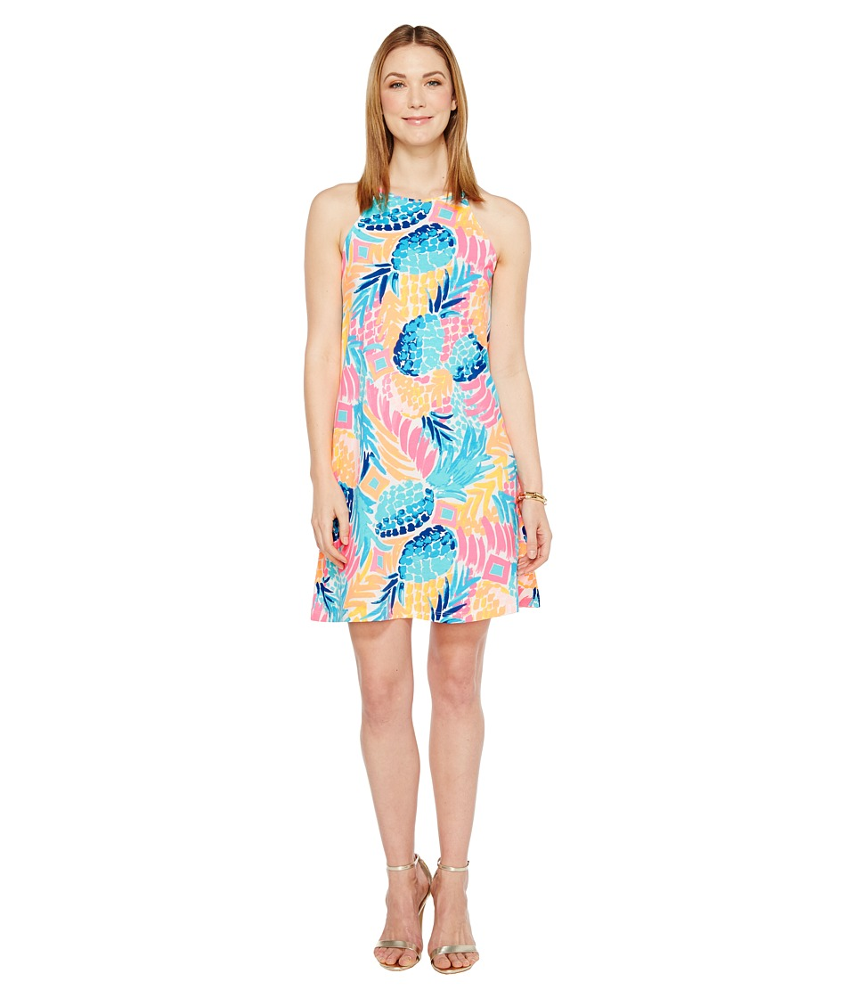 Lilly Pulitzer Margot Dress (Multi Goombay Smashed) Women
