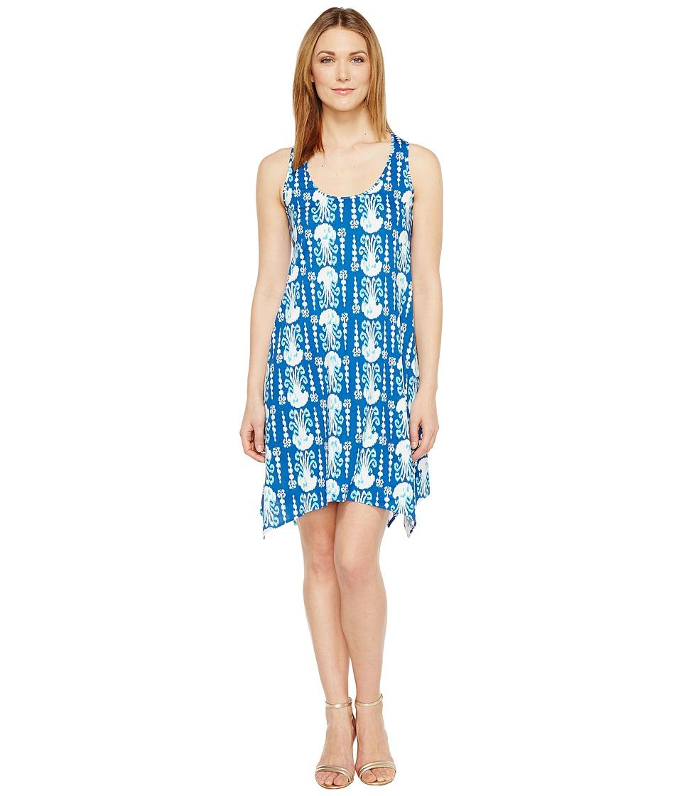 Lilly Pulitzer Melle Dress (Indigo Get In Line) Women