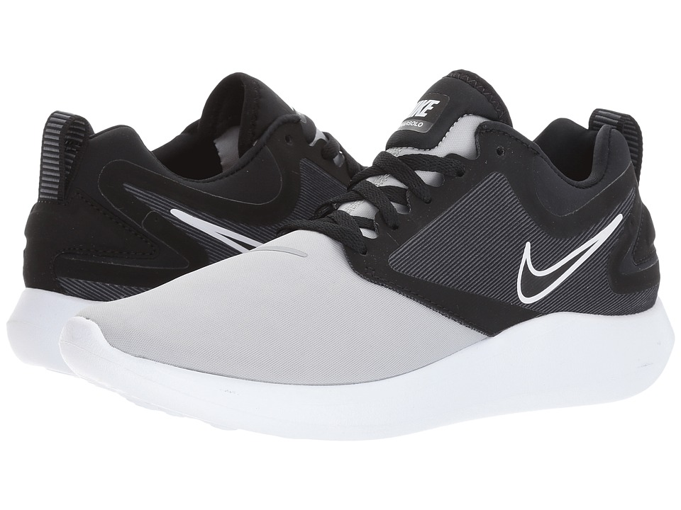 Nike Kids Lunarsolo (Big Kid) (Anthracite/White/Infrared/Black) Boys Shoes