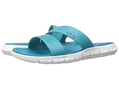 Cole Haan Zerogrand 2 Strap Sandal - Capri Breeze Leather/Optic White