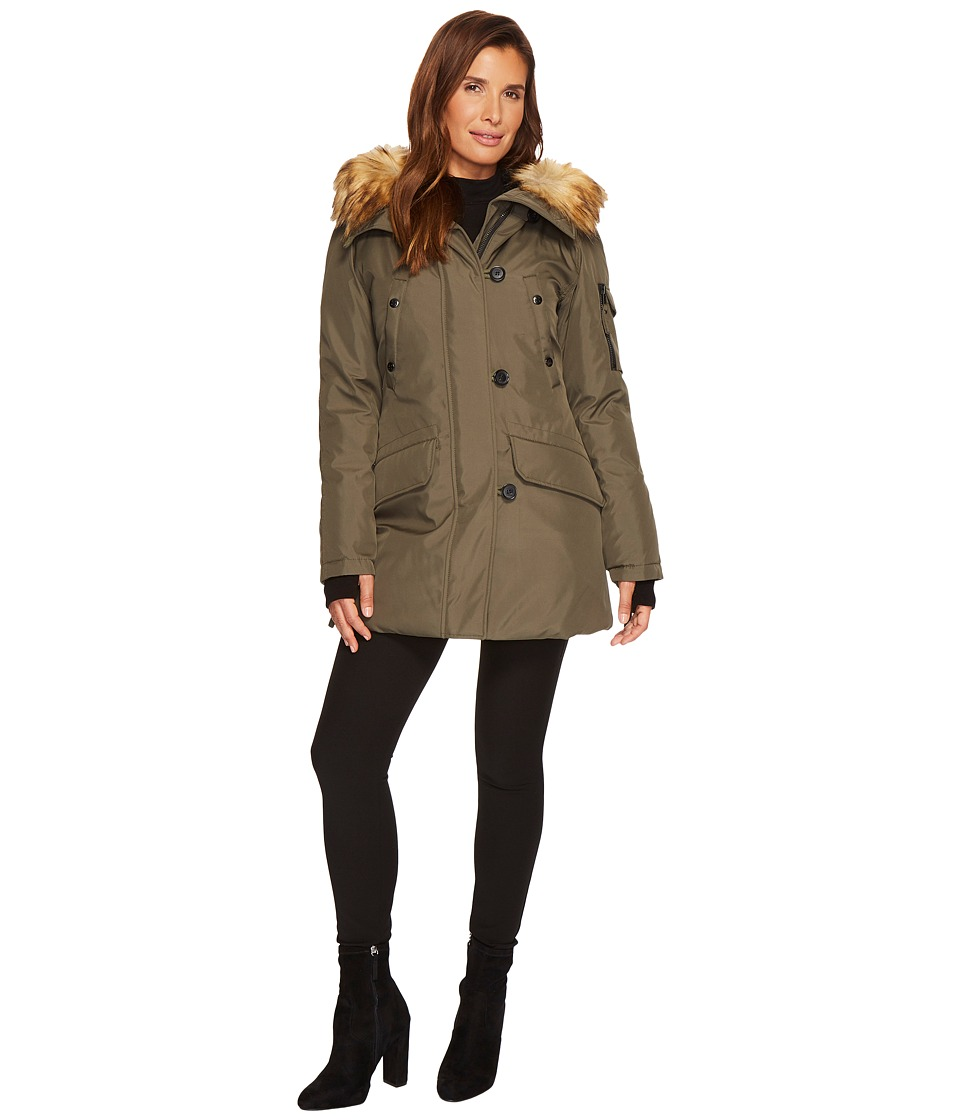 S13 Eskimo Parka (Army/Natural) Women
