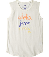 Roxy Kids - Aloha From Roxy Muscle Tee (Big Kids)