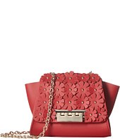 ZAC Zac Posen - Eartha Iconic Chain Crossbody w/ Floral Applique