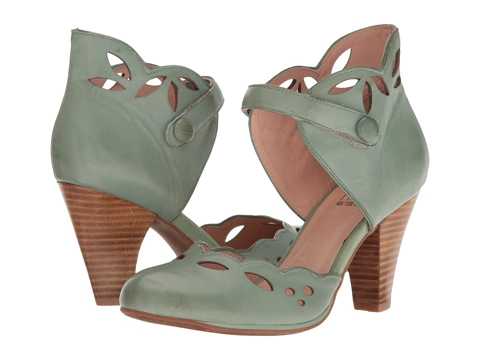 1940s Style Shoes Miz Mooz - Carlotta Sage Womens 1-2 inch heel Shoes $97.99 AT vintagedancer.com