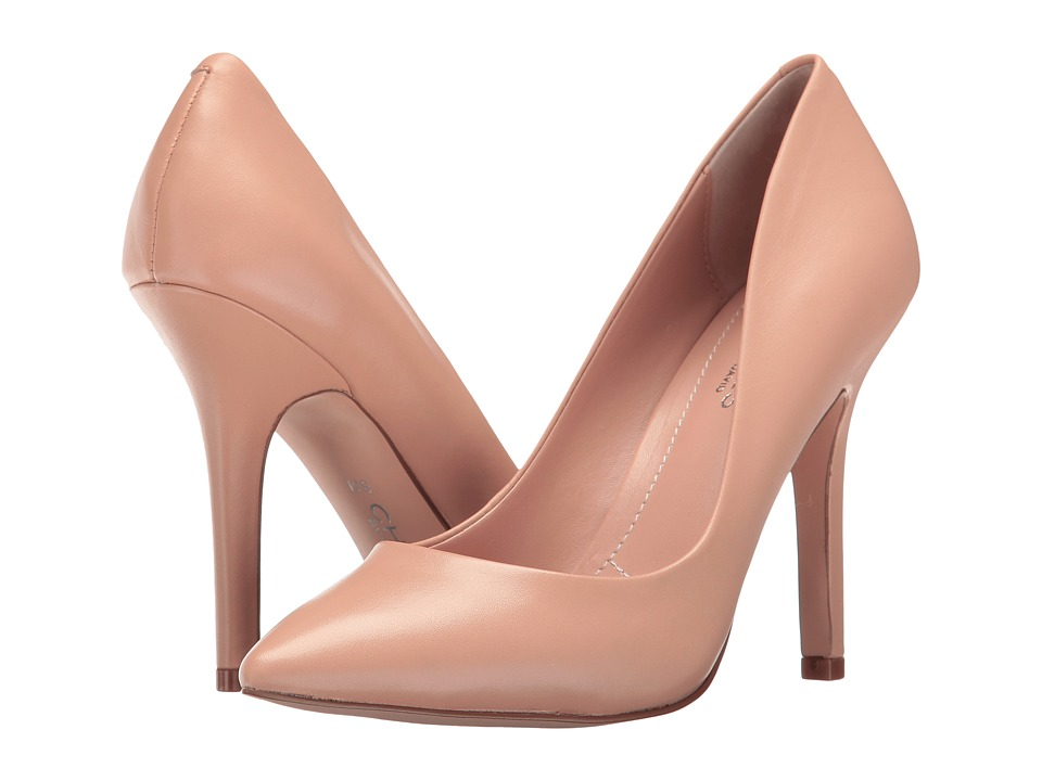 Charles by Charles David Maxx (Nude Leather) High Heels