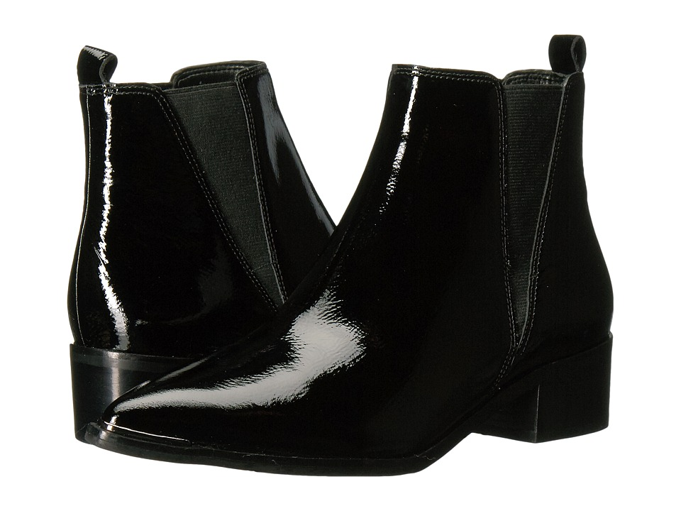 Marc Fisher LTD Yale (Black/Black Patent) Women