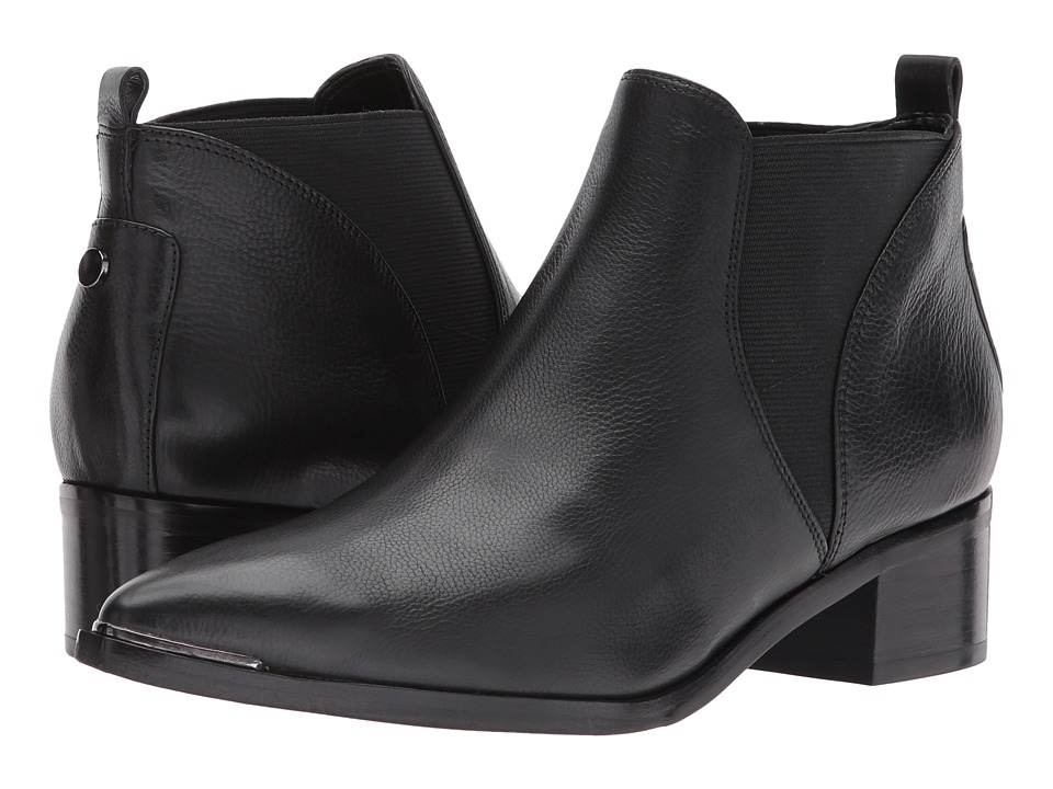 Marc Fisher LTD - Yellin (Black/Black Leather) Womens Shoes