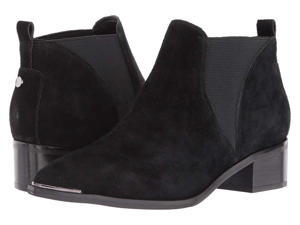 Marc Fisher LTD Yellin (Black/Black Suede) Women