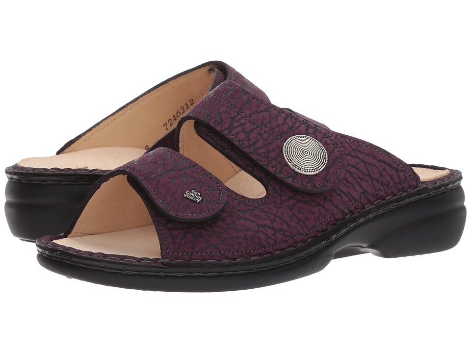 Finn Comfort Sansibar (Grape Mambo) Women