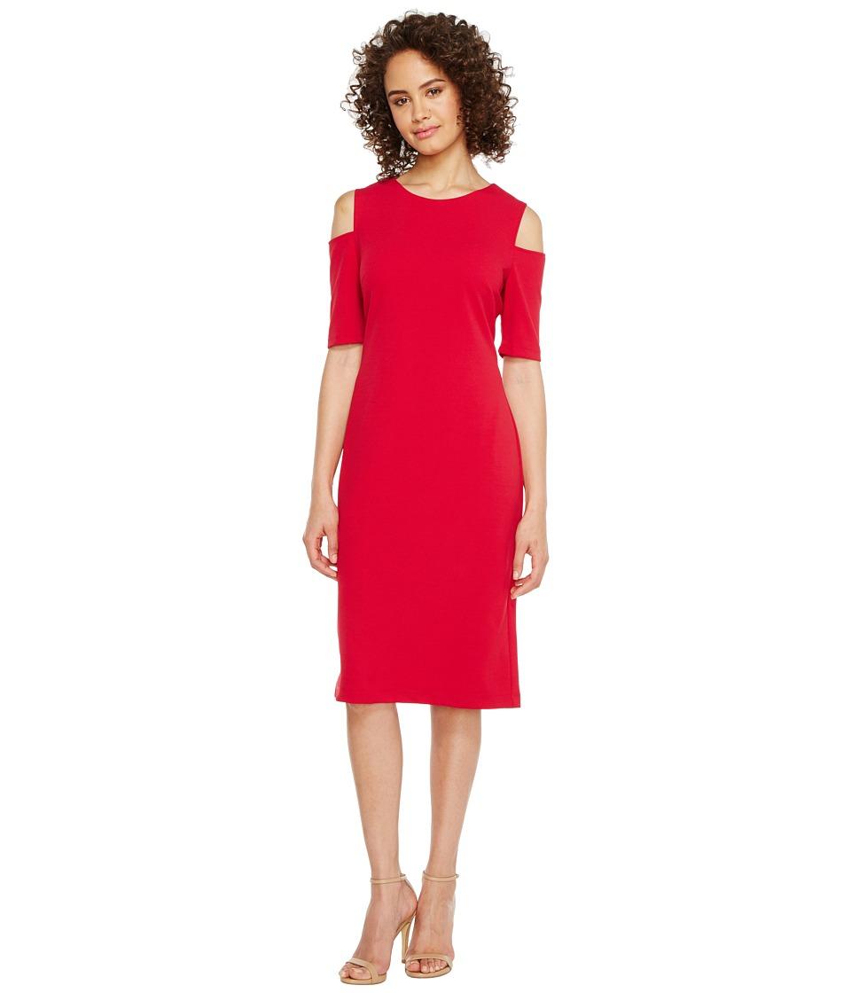 Christin Michaels - Lexington Cold Shoulder Dress