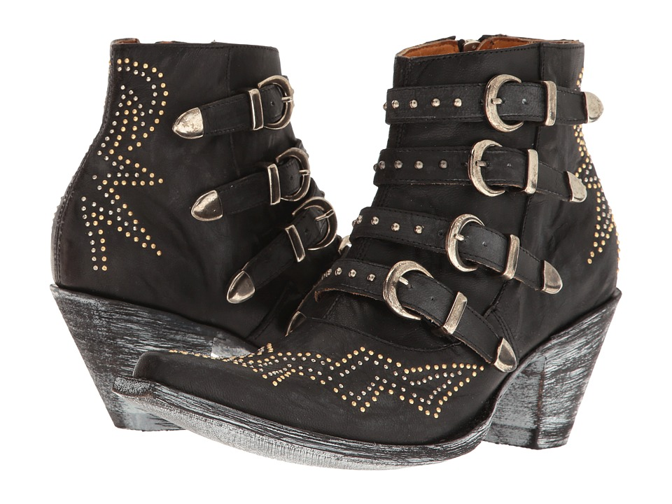 Old Gringo Roxy (Black) Cowboy Boots