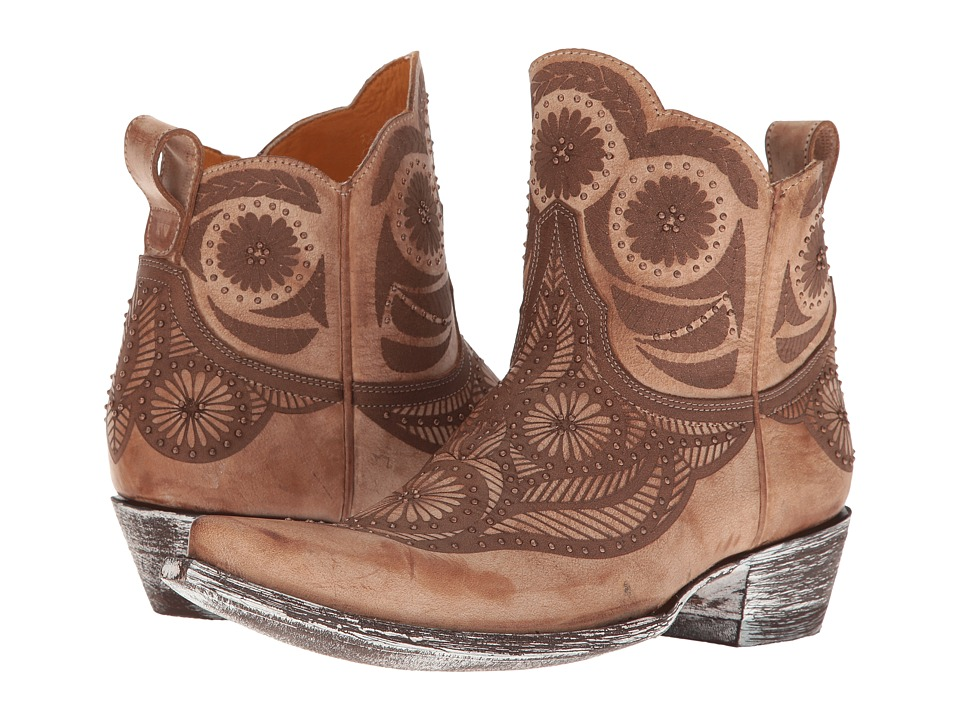Old Gringo Valentine Dion (Crackled Whiskey) Cowboy Boots