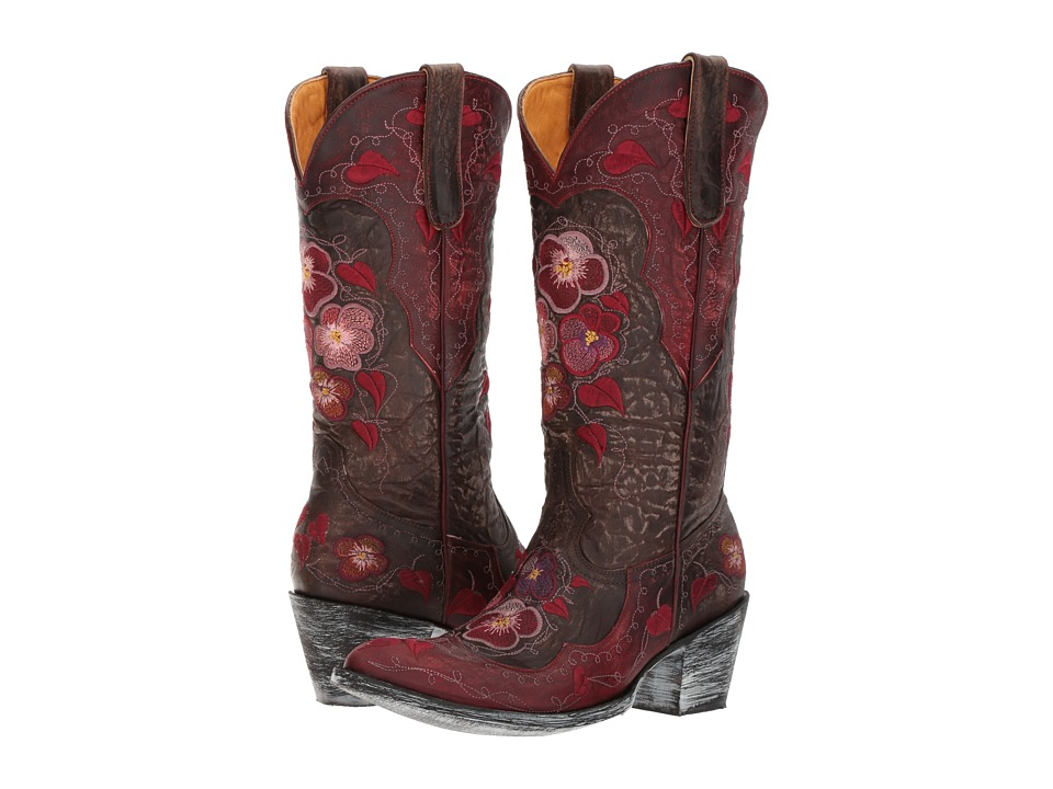 OLD GRINGO Pansy (Chocolate) Cowboy Boots