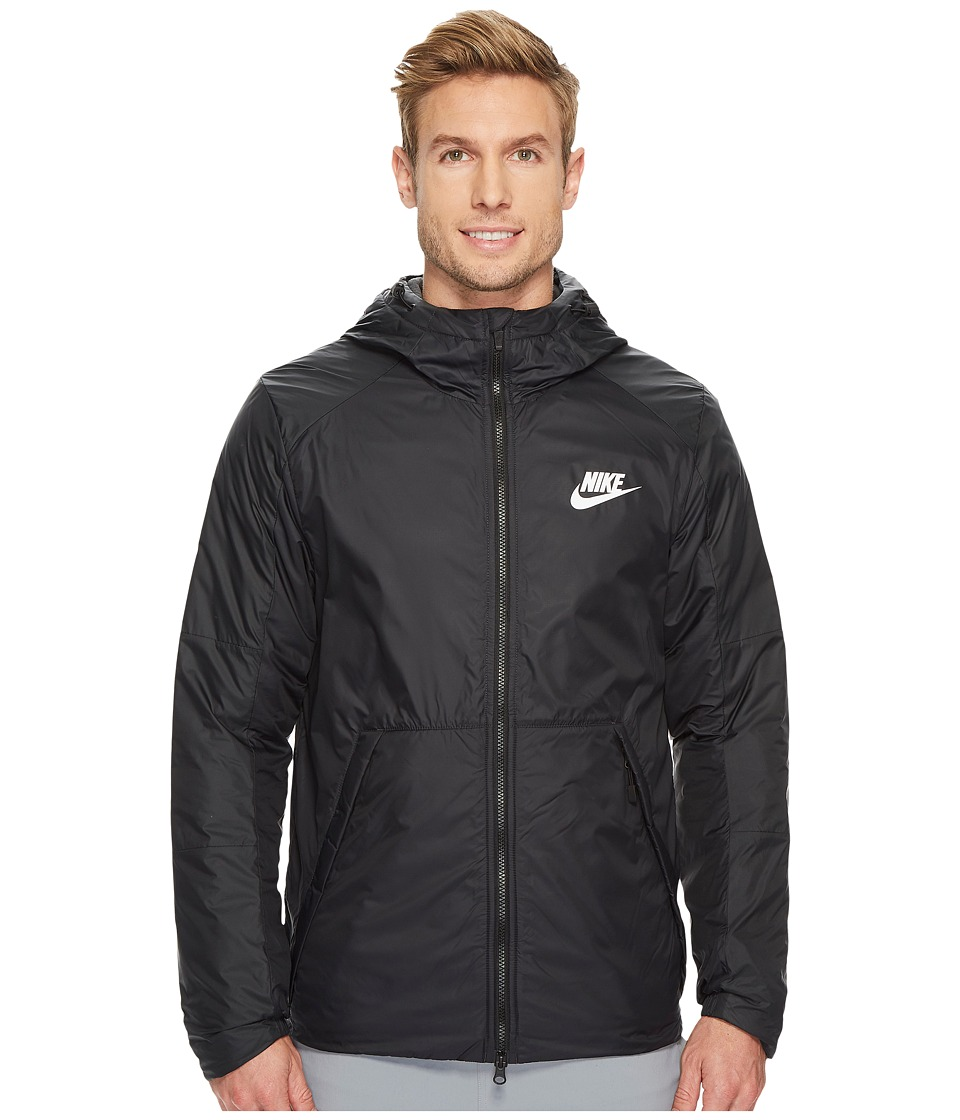 Nike Synthetic Fill Fleece Jacket (Black/Anthracite/White...