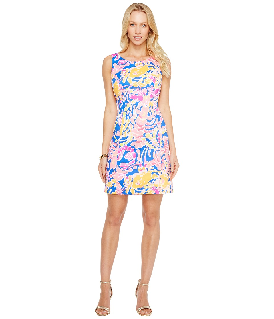 Lilly Pulitzer Courtney Shift (Brilliant Blue Catch and Release) Women