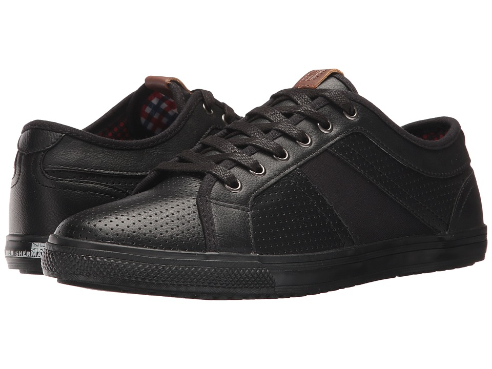 Ben Sherman Madison Perf (Black) Men