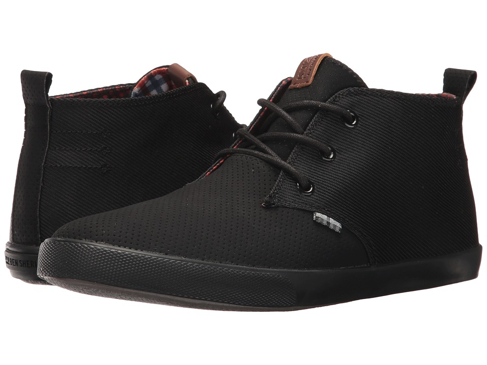 Ben Sherman Bradford Chukka (Black Denim) Men