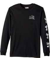 Vans Kids - By Peanuts Long Sleeve Tee (Big Kids)