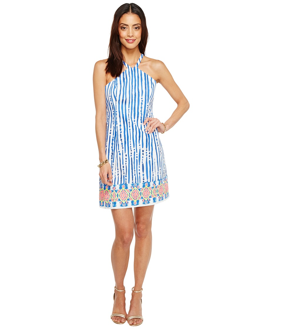 Lilly Pulitzer Iveigh Shift (Blue Crush Bay Stripe Engineered) Women