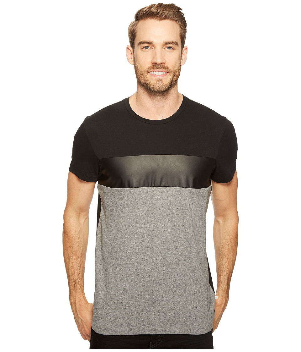 Calvin Klein Tricolor Blocked T-Shirt (Black Combo) Men