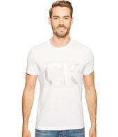 Calvin Klein - Illusion CK Logo Crew Neck T-Shirt