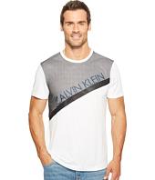 Calvin Klein - Mesh Paneled Crew Neck T-Shirt