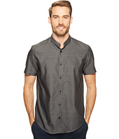 Calvin Klein - Band Collar Jaspe Button Down Shirt