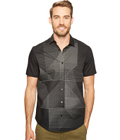 Calvin Klein - 3D Linear Print Button Down Shirt