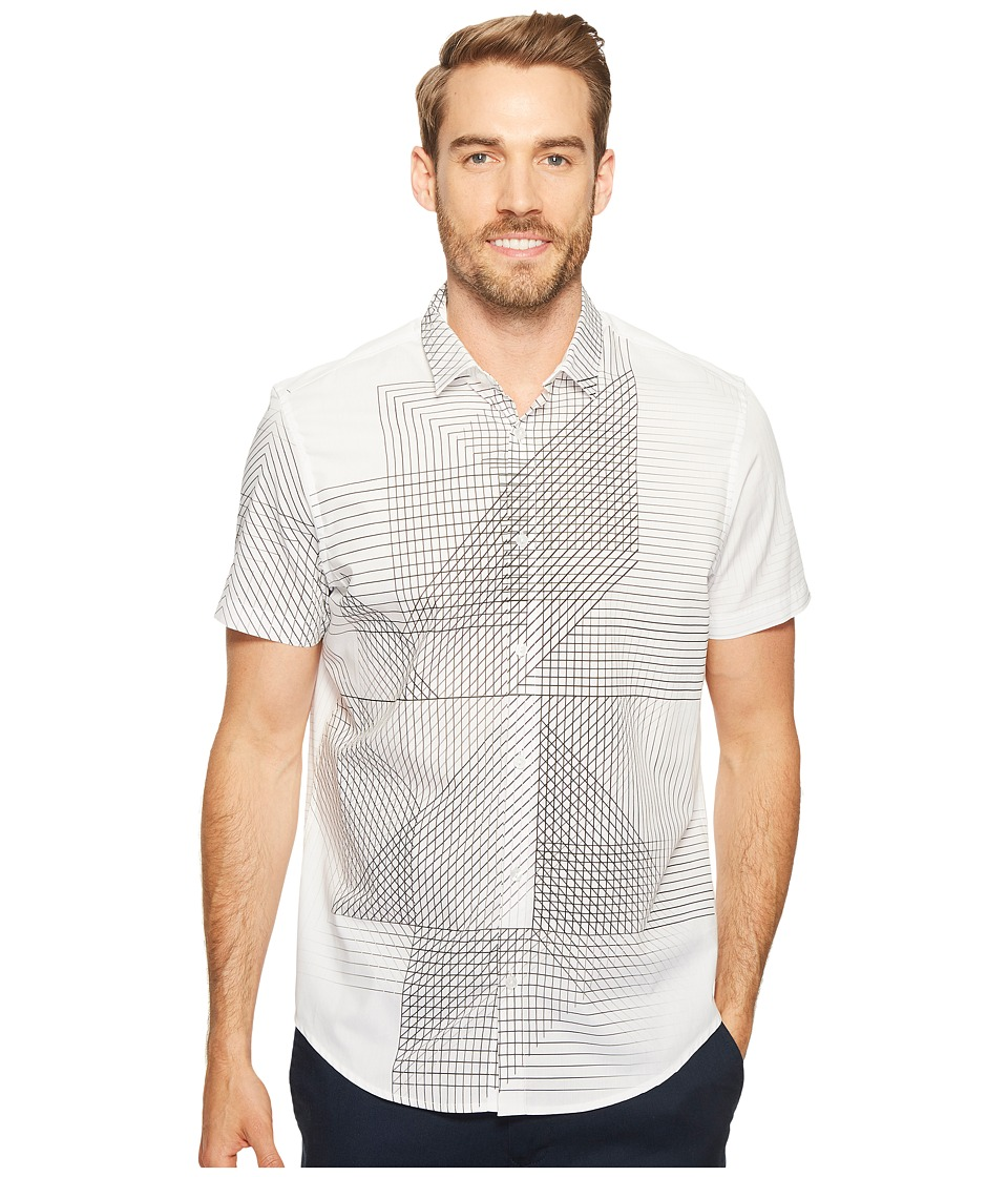 Calvin Klein Calvin Klein - 3D Linear Print Button Down Shirt