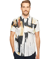 Calvin Klein - Hand-Painted Print Button Down Shirt