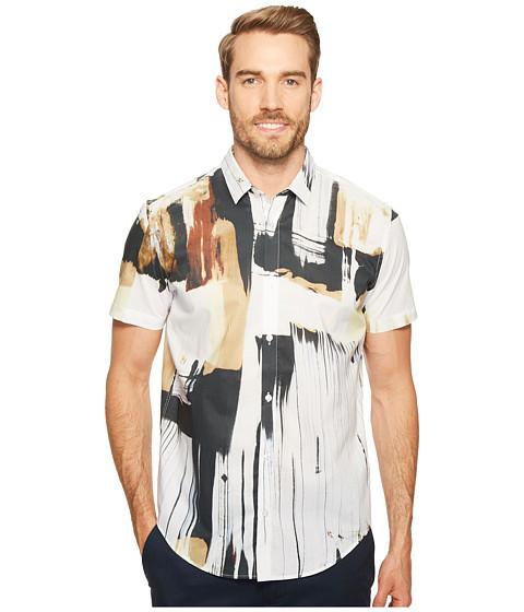 Calvin Klein Hand-Painted Print Button Down Shirt