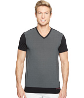 Calvin Klein - Solid Dot Print Graphic T-Shirt