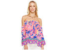 Lilly Pulitzer Sanilla Silk Top
