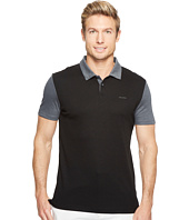 Calvin Klein - Color Block Lyocel Polo Shirt