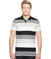 Calvin Klein - Engineered Bar Stripe Polo Shirt