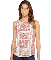 Lucky Brand - Spiced Red Printed Tank Top