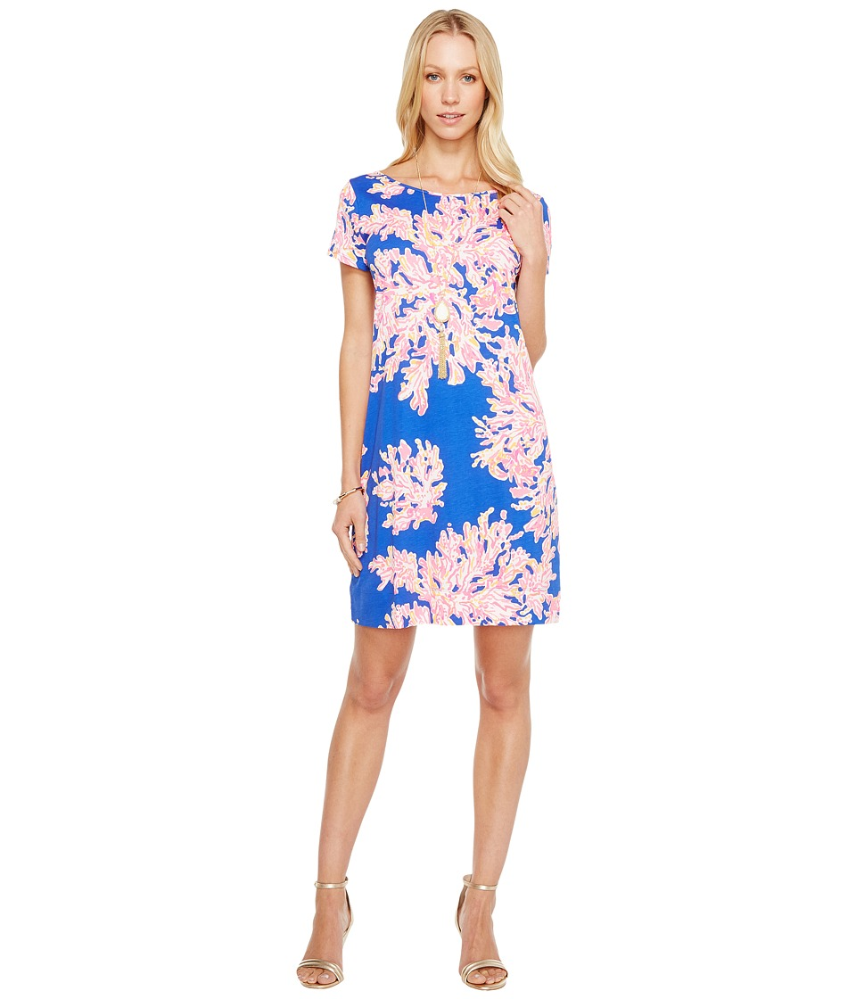 Lilly Pulitzer Short Sleeve Marlowe Dress (Brilliant Blue...